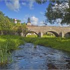 Die Brücke über die Auma in Rohna