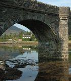 Die Brücke zum Eilean Donan Castle.