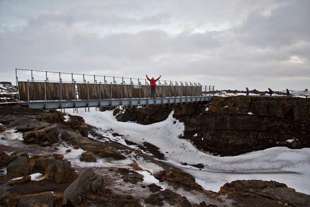 Die Brücke zwischen Kontinenten