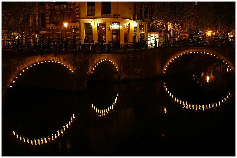 Die Brücken von Amsterdam...
