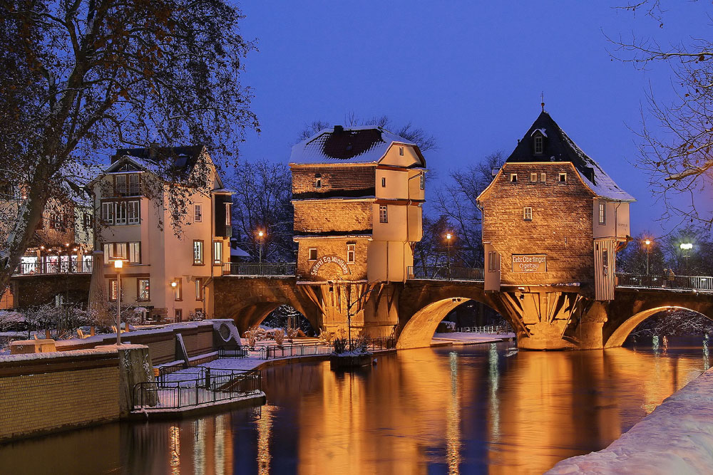 Die Brückenhäuser in Bad Kreuznach (DRI)
