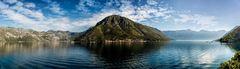 Die Bucht von Kotor.