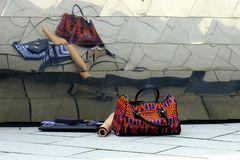 Die bunte Handtasche