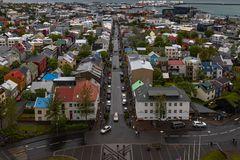 Die bunten Dächer von Reykjavik