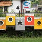 Die bunten Waschautomaten