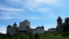 die Burg Clam