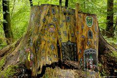 Die Burg im Wald