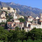 Die Burg in Corte/Korsika