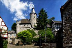 Die Burg in Stolberg/Rheinland