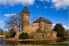 Die Burg Linn im Sonnenlicht