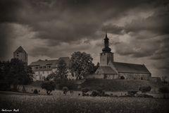 Die Burg Querfurt (Digital - Daguerreotype Remix)