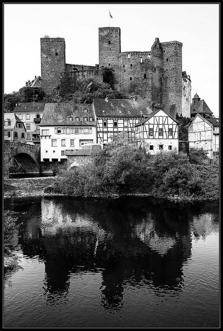 Die Burg Runkel...