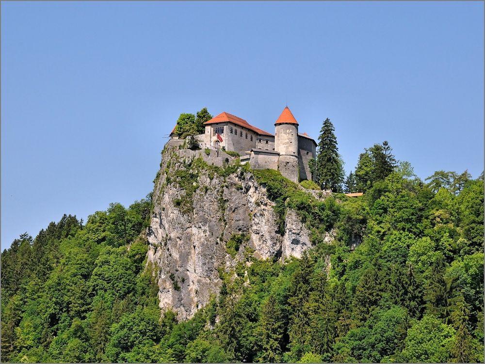 Die Burg von Bled