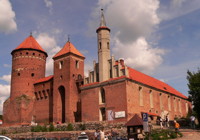 Die Burg von Reszel , ehemals Rössel