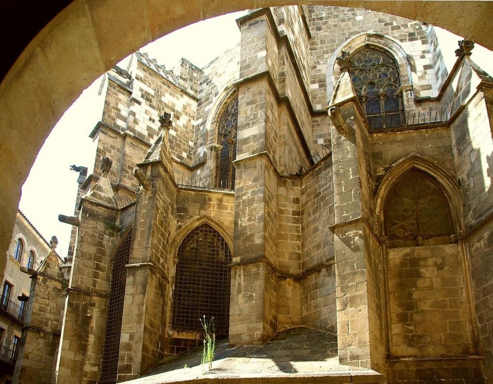die Catedrale in Barcelona.....