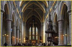 Die Cathédrale  Saint - Paul in Liége