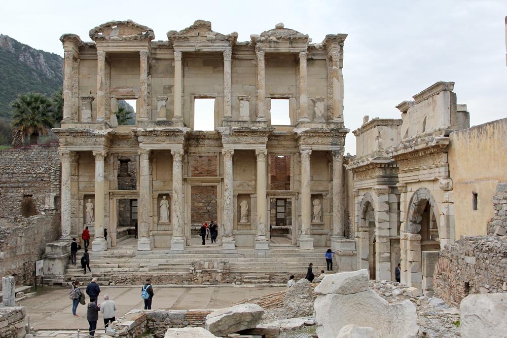 Die Celisus Bibliothek in Ephesos Türkei