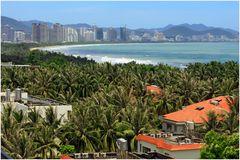 Die chinesische Tropen Insel Hainan