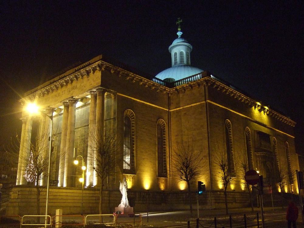 Die Christkönigskathedrale in Katowice