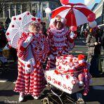 Die Clownfamilie - jedes Jahr wieder dabei
