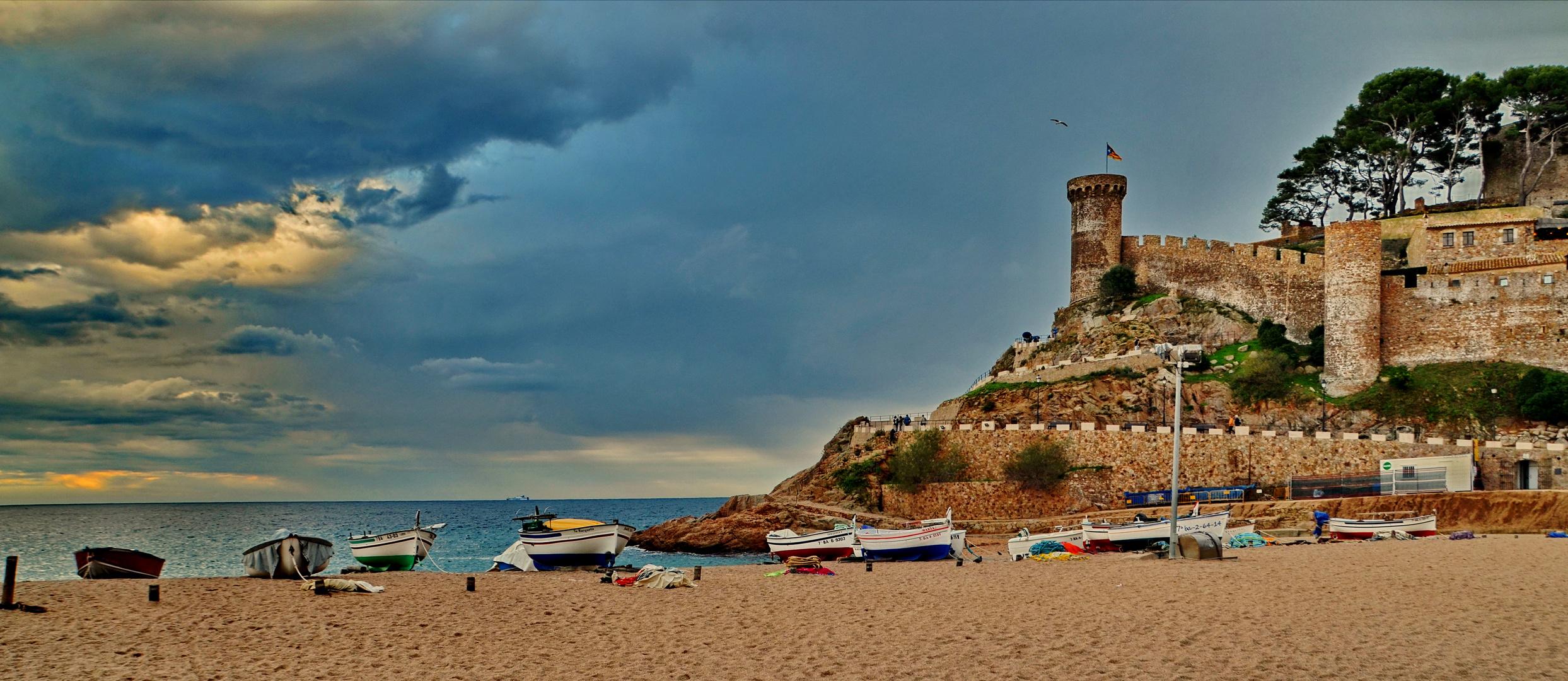 Die Costa Brava macht Pause