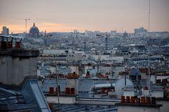 Die Dächer über Paris