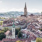 Die Dächer von Bern
