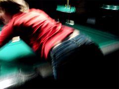 ___die dame auf dem billardtisch___