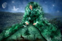 die Dame des Waldes