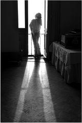 Die Dame im Fenster