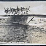 Die DO  X, das größte Flugschiff der Welt