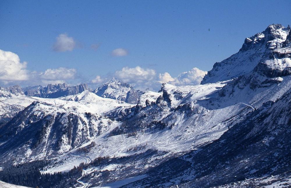 Die Dolomiten im Frühjahr