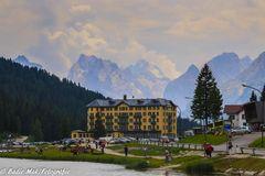 Die Dolomiten im Sommer