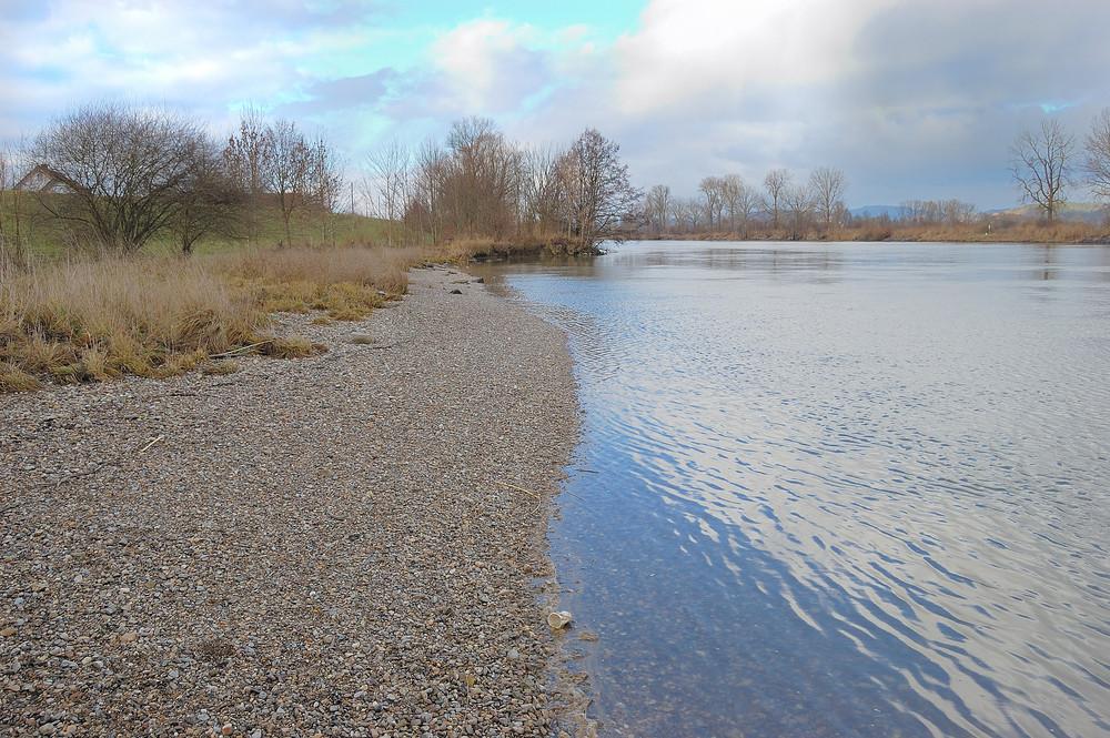Die Donau bei Irling