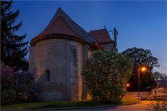 Die Dorfkirche St.Blasii in Altenburg...