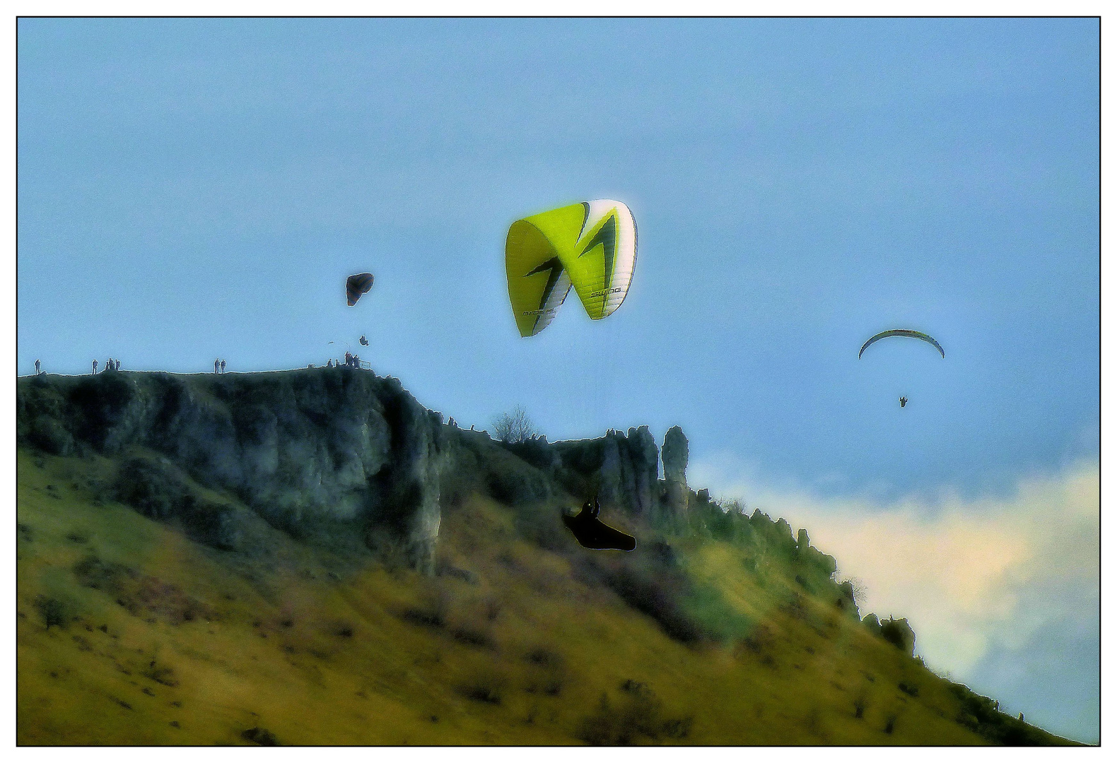 Die Drachenflieger vom Walberla