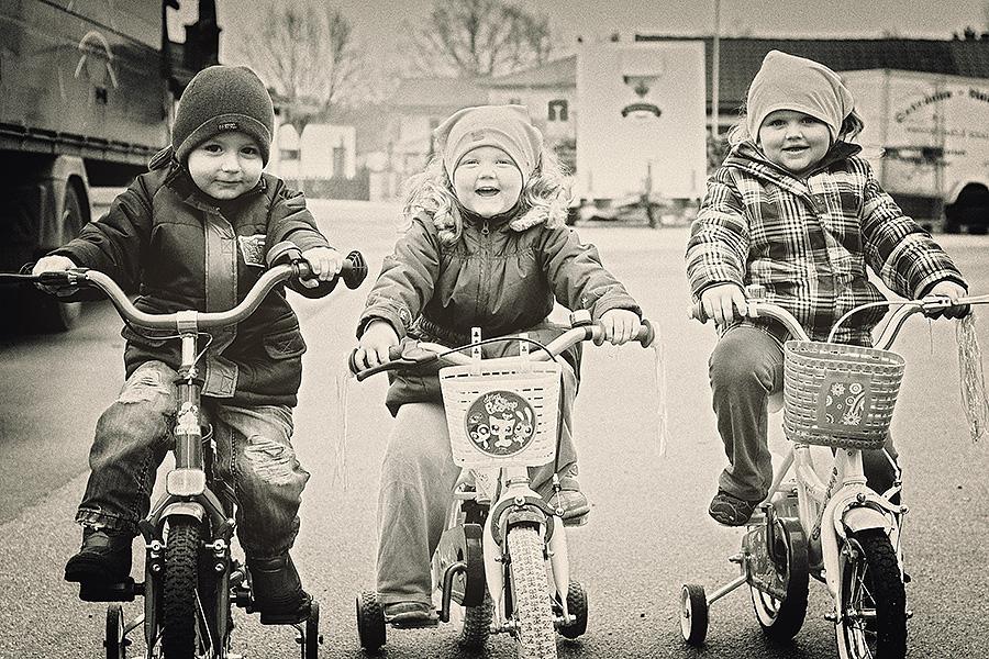 Die drei Biker :)
