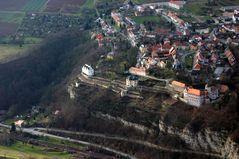 Die drei Dornburger Schlösser bei Jena