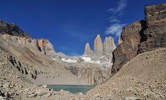 Die drei Granit-Türme