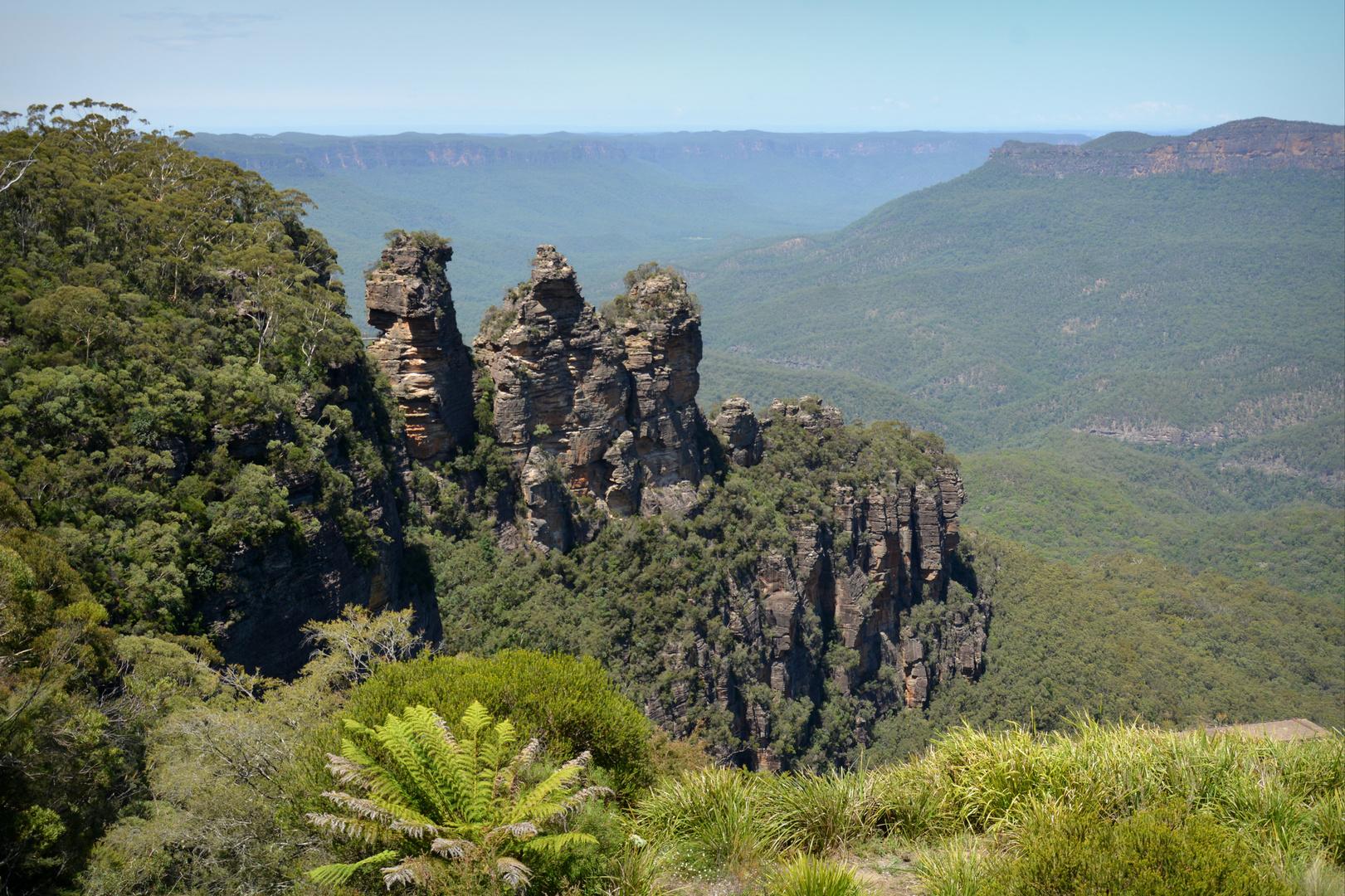 Die Drei Schwestern in Katoomba