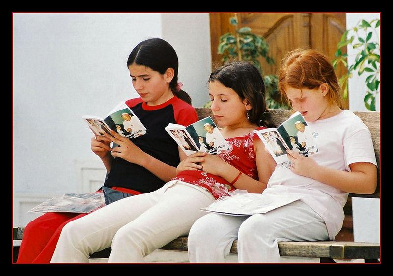 Die Drei sind Papst