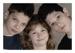 Die drei von meiner Schwester.