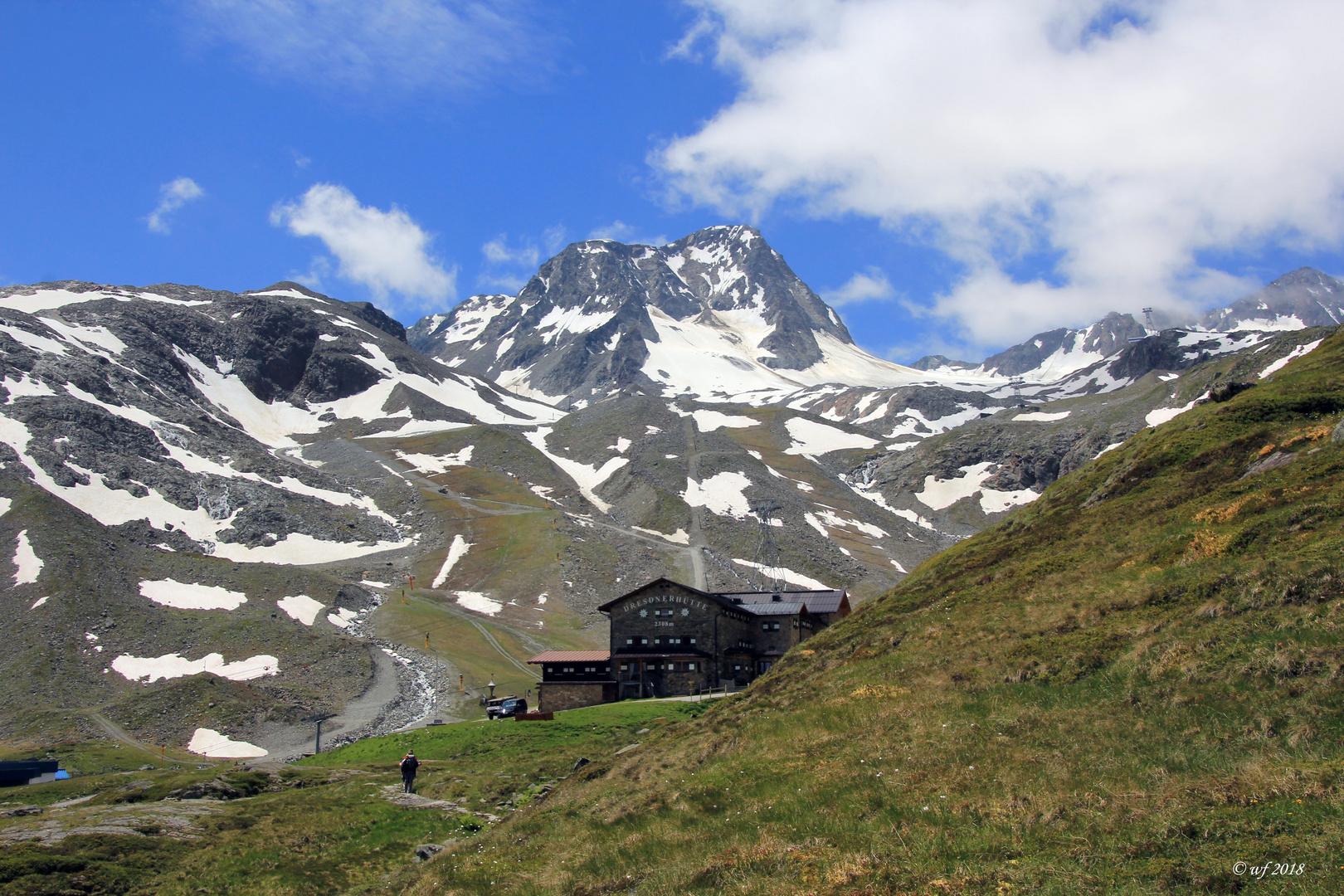 Die Dresdner Hütte