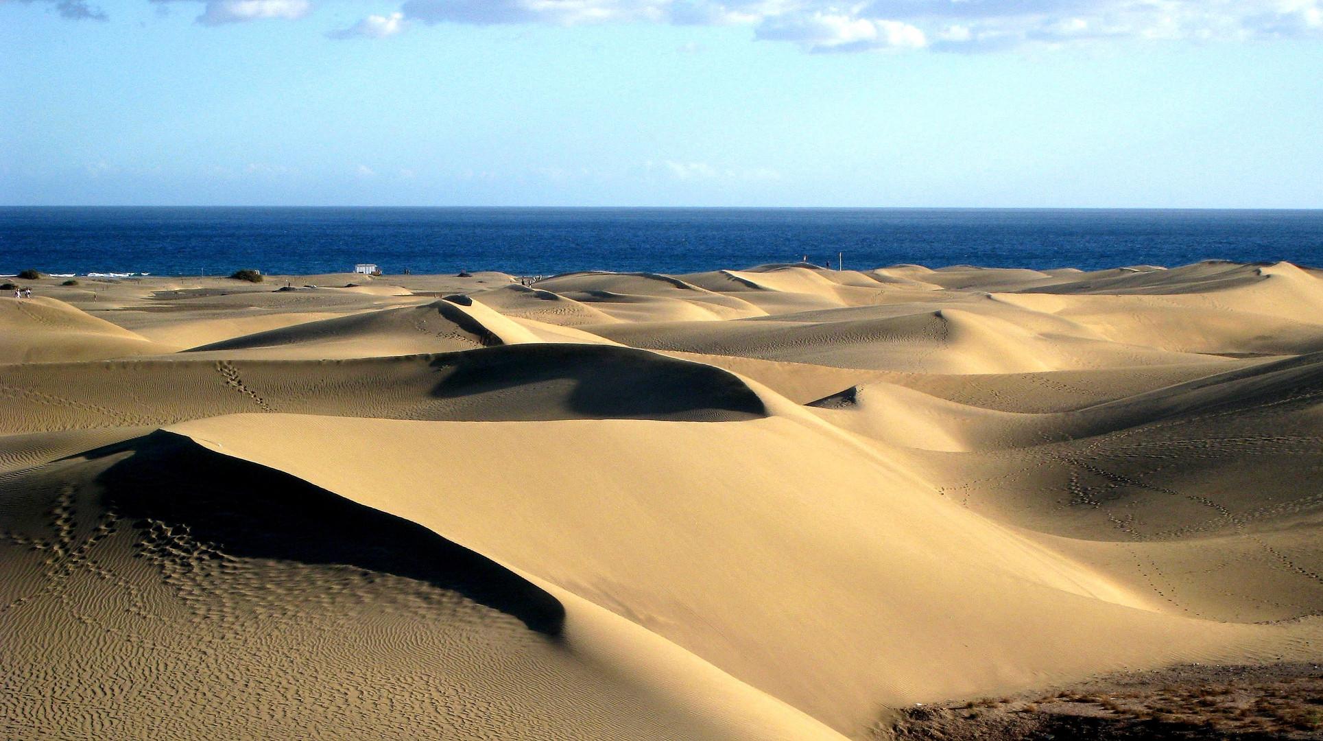 Die Dünen von Playa del Inglés, Gran Canaria