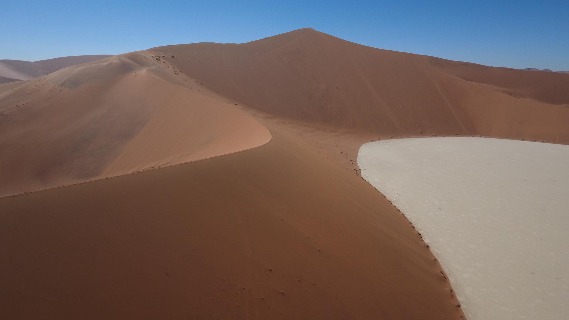 die Dünen von Soussuvlei