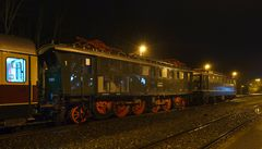 Die E 75 59 (175 059)- Überführung.