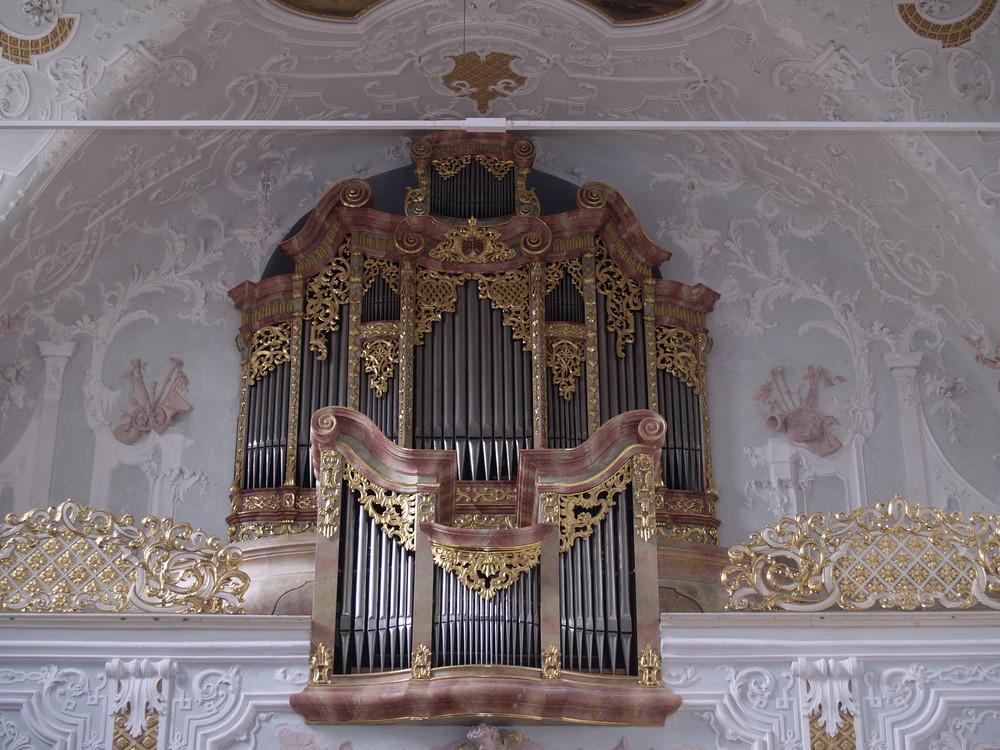 Die Egedacher Orgel in der Kirche Vornbach
