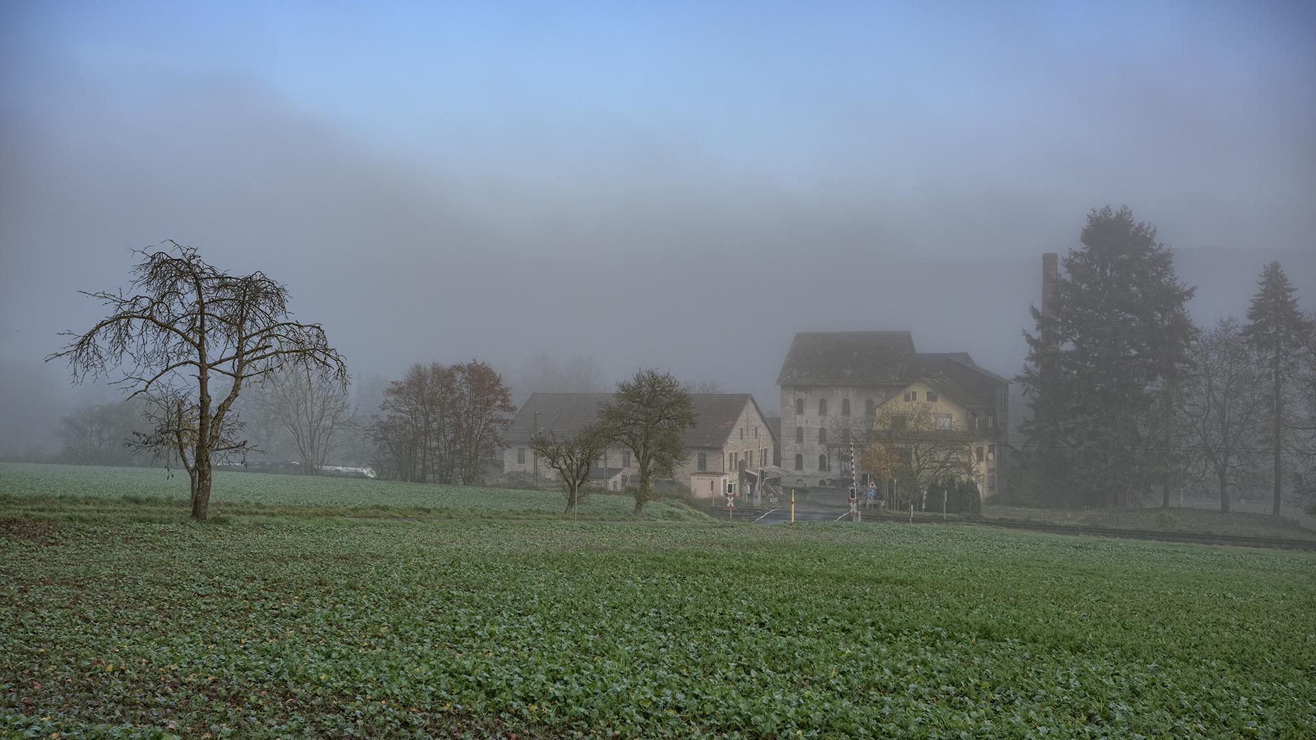 die ehemalige Marxmühle....