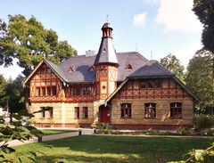Die ehemalige Neue Schule in Bornstedt