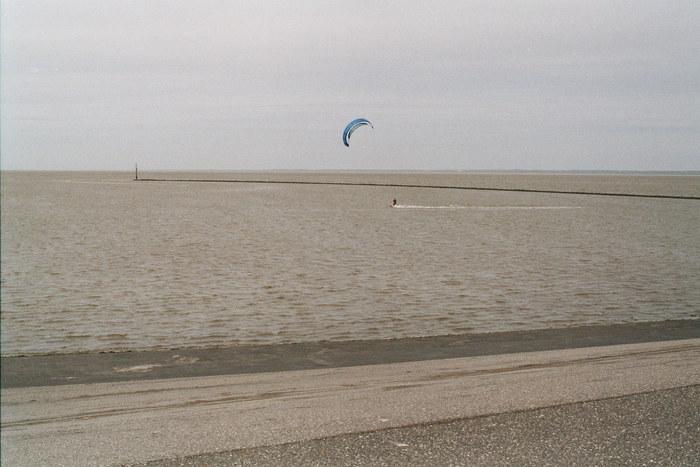 Die Einsamkeit des Kite-Surfers...
